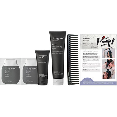 Online Only Style Lab Flat Brush Blowout Kit