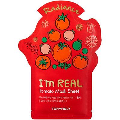 TONYMOLYI%27m Real Holiday Tomato Face Mask