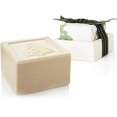 Thymes Online Only Frasier Fir Soap %26 Dish Set