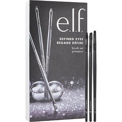 e.l.f. CosmeticsOnline Only Defined Eyes 3 Piece Brush Set