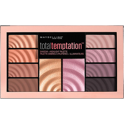 MaybellineTotal Temptation Eyeshadow + Highlight Palette