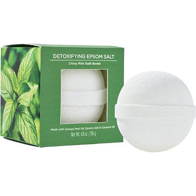 ULTADetoxifying Epsom Salt Treatment Bath Bomb Citrus Mint