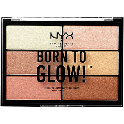NYX Professional MakeupBorn to Glow Highlighting Palette