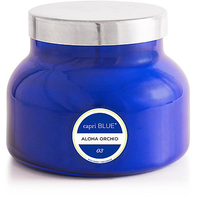 Capri BlueOnline Only Aloha Orchid Blue Signature Jar Candle