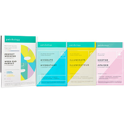 PatchologyOnline Only Perfect Weekend FlashMasque Sheet Mask Kit