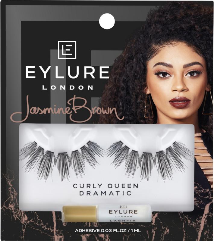 Eylure X Jasmine Brown Curly Queen Lashes Ulta Beauty