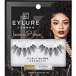 Eylure X Jasmine Brown Curly Queen Lashes