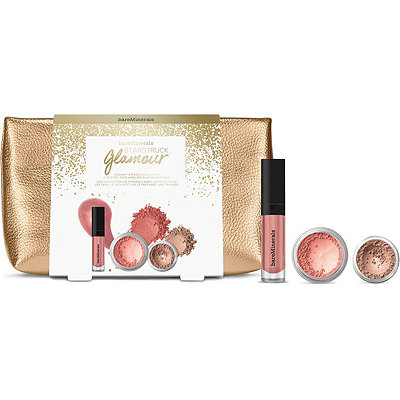 BareMinerals Starstruck Glamour 3 Pc Collection For Eyes%2C Face and Lips Plus Makeup Bag