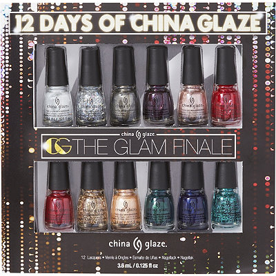 China Glaze Online Only Glam Finale 12 pc Book