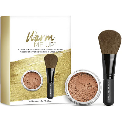 BareMineralsWarm Me Up A Little Sun All-Over Face Color and Brush