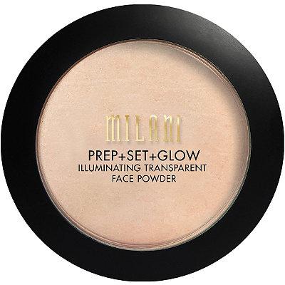 Prep + Set + Glow Illuminating Transparent Powder