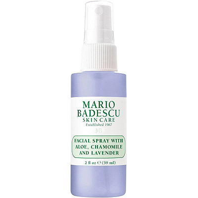 Travel Size Facial Spray with Aloe, Chamomile and Lavender