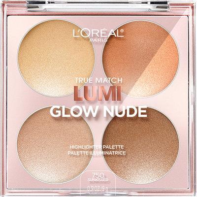 L'OréalTrue Match Lumi Glow Nude Highlighter Palette