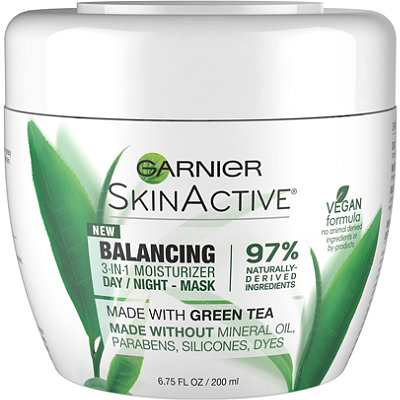 GarnierSkinActive Balancing 3-in-1 Face Moisturizer with Green Tea