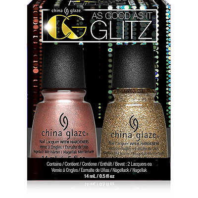 China GlazeAs Good As It Glitz 2 Pc Set