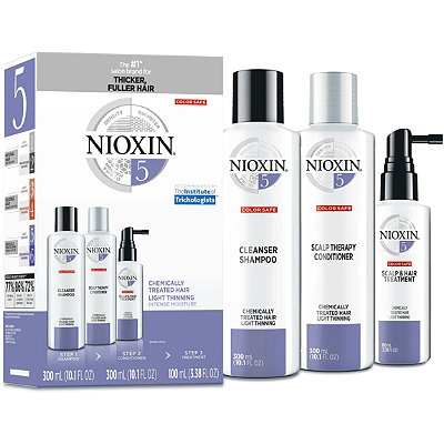Hair Care Kit System 5. Chemically Treated Hair with Normal to Light Thinning