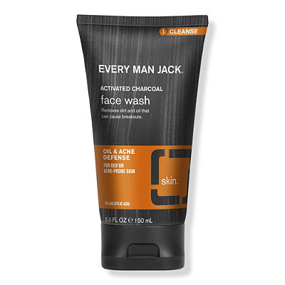 Every Man JackOnline Only Charcoal Face Wash Skin Clearing