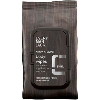 Every Man JackOnline Only Speed Shower Face %26 Body Wipes Sensitive Skin