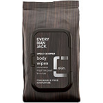Every Man Jack Online Only Speed Shower Face & Body Wipes Sensitive Skin