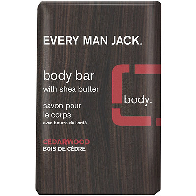 Every Man JackOnline Only Cedarwood Body Bar with Shea Butter