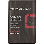 Every Man Jack Online Only Cedarwood Body Bar with Shea Butter