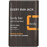Every Man Jack Online Only Citrus Scrub Body Bar with Wheat Bran