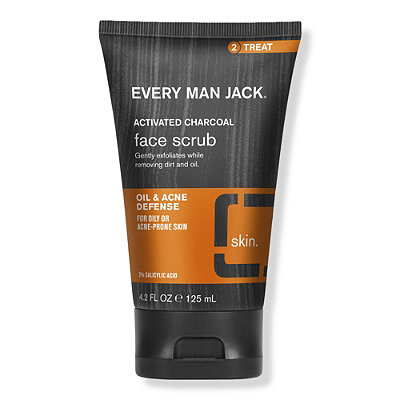 Every Man JackOnline Only Charcoal Face Scrub Skin Clearing