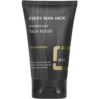 Every Man JackOnline Only Volcanic Clay Face Scrub Oil Defense