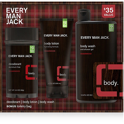 Every Man JackOnline Only Cedarwood Body Kit
