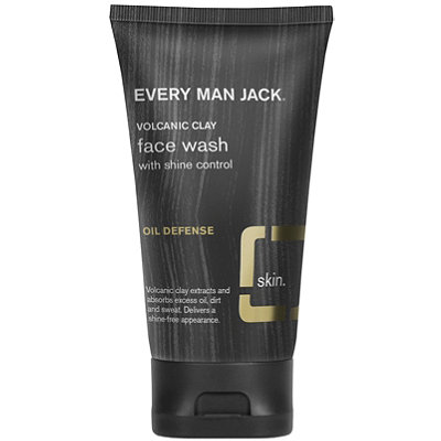 Every Man JackOnline Only Shine Control Face Wash with Volcanic Clay Oil Defense
