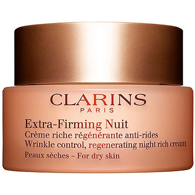 Extra-Firming Wrinkle Control Regenerating Night Rich Cream For Dry Skin