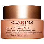 Clarins Extra-Firming Wrinkle Control Regenerating Night Rich Cream For Dry Skin