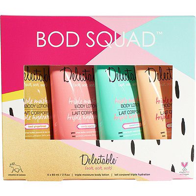 DelectableOnline Only Body Squad Limited Edition Body Lotion Kit