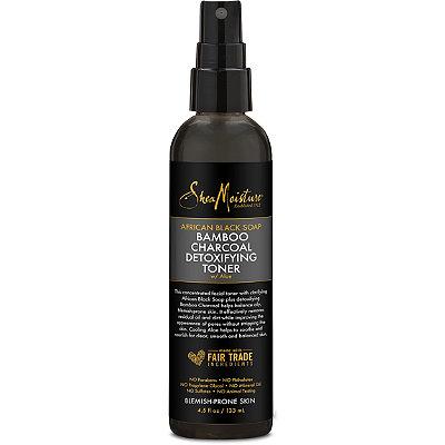 SheaMoistureAfrican Black Soap and Bamboo Charcoal Detoxifying Toner
