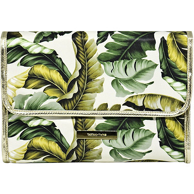 Leaves and Cork Hanging Makeup Valet Leaf Print