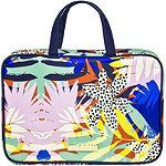 Jungle Fever Travel Weekender Makeup Bag Tropical Print