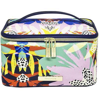 Jungle Fever Travel Makeup Train Case Organizer Jungle Print