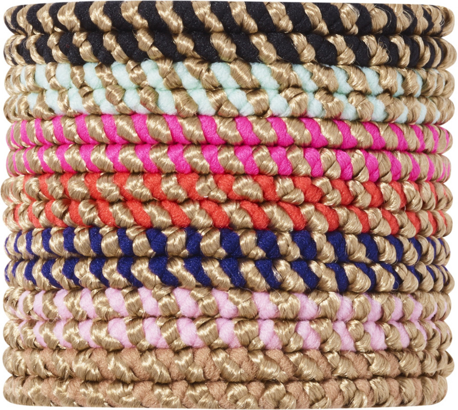 Scünci Assorted No-Damage Rope Elastics 14 pk 7c0acea181f