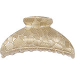 Gold Textured Jaw Clip
