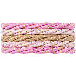 Assorted No-Damage Rope Elastics 5 pk