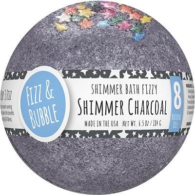 Black Charcoal Shimmer Large Bath Fizzy