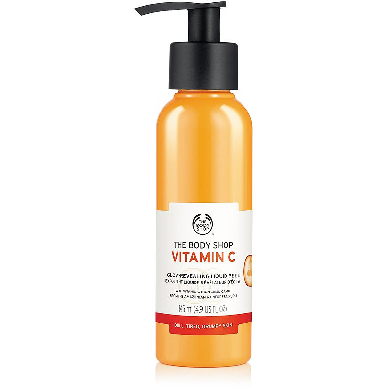 The Body Shop Vitamin C Glow Revealing Liquid Peel Ulta Beauty