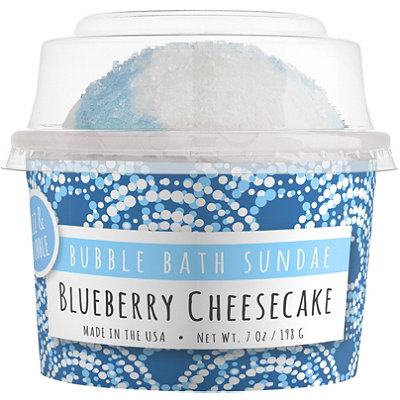 Blueberry Cheesecake Bath Sundae