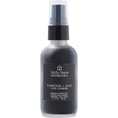 Little Barn ApothecaryCharcoal + Aloe Face Cleanser