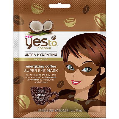 Yes toCoconut Energizing Coffee Super Eye Mask