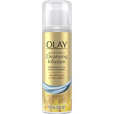 Olay Micropolishing Cleansing Ginger Infusion Facial Cleanser
