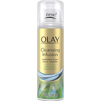 OlayCleansing Infusion Facial Cleanser with Deep Sea Kelp