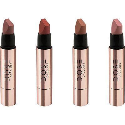 Dose Of ColorsWinter Hues Satin Lipstick Quad