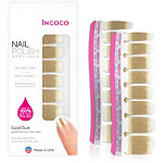 Incoco Nail Polish Appliqués - Nail Art Designs Gold Dust