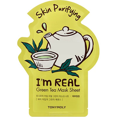 TONYMOLYI'm Real Green Tea Sheet Mask